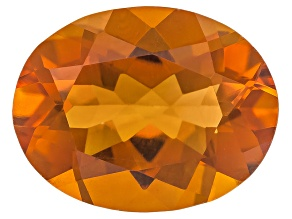 Citrine Madeira 9x7mm Oval Brilliant Cut 1.50ct