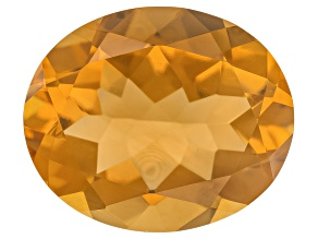 Citrine 12x10mm Oval 4.00ct