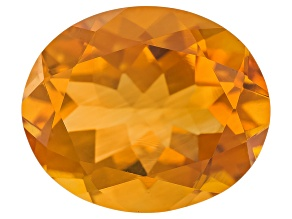 Citrine Madeira 12x10mm Oval Brilliant Cut 4.00ct