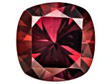 Red Zircon 9mm Square Cushion 4.50ct