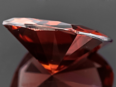 Red Zircon 9mm Square Cushion 3.25ct