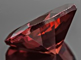Red Zircon 8mm Square Cushion 2.50ct