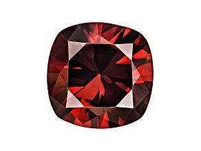 Red Zircon 9mm Square Cushion 4.25ct