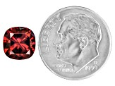 Red Zircon 8mm Square Cushion 3.00ct