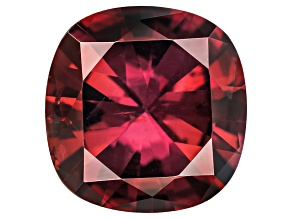 Red Zircon 8mm Square Cushion 2.75ct