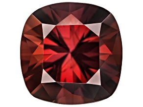 Red Zircon 6mm Square Cushion 1.25ct