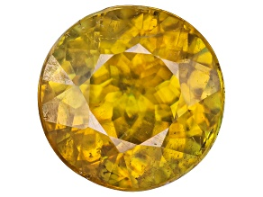 Sphene 6.5mm Round 1.00ct