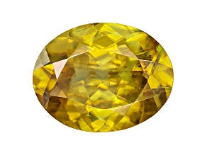 Sphene 9.5x7.5mm Oval 2.20ct