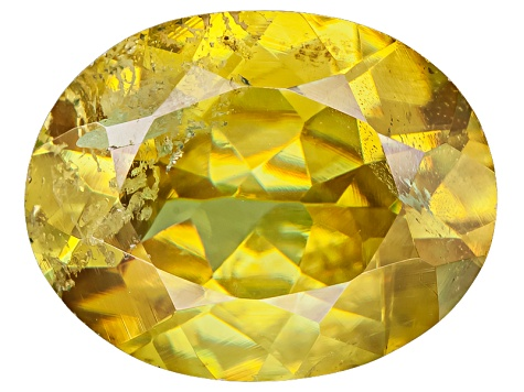 Sphene 10x8mm Oval 2.50ct