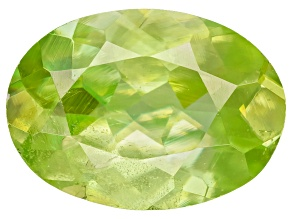 Sphene 7.5x5.5mm Oval .85ct