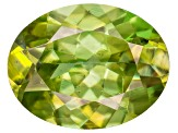 Sphene 9.5x7.5mm Oval 2.25ct
