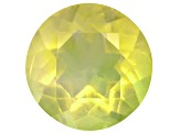 Green Opal 6.5mm Round .60ct