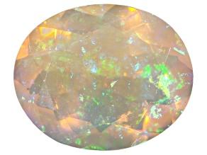Ethiopian Opal 12x10mm Oval 2.00ct