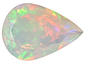 Ethiopian Opal 14x10mm Pear Shape 2.00ct