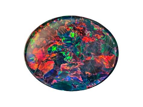 Opal Triplet 16mm x 12mm Oval Cabochon Cut Gem Gemstone