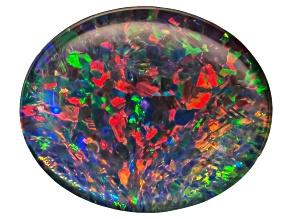 Australian Opal Triplet 11x9mm Oval Cabochon