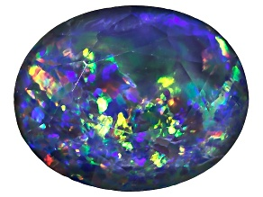 Australian Opal Triplet 10x8mm Oval Faceted
