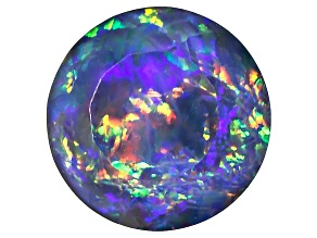 Australian Opal Triplet 8mm Round Faceted