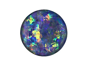 Australian Opal Triplet 12mm Round Faceted