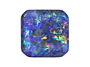Australian Opal Triplet 12mm Octagonal Faceted