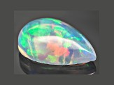 Ethiopian Opal 12x8mm Pear Cabochon 1.25ct