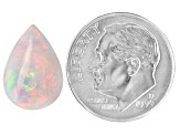 Ethiopian Opal 14x10mm Pear Cabochon 2.50ct