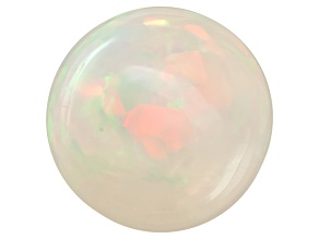 Ethiopian Opal 12mm Round Cabochon 4.00ct