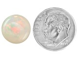 Ethiopian Opal 12mm Round Cabochon 4.00ct