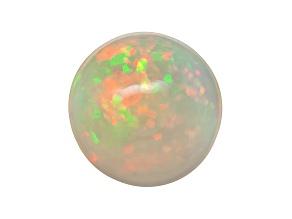Ethiopian Opal 9mm Round Cabochon 1.25ct