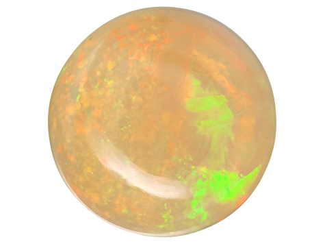 Ethiopian Opal 11mm Round Cabochon 2.50ct