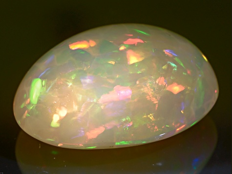 Ethiopian Opal 16x12mm Oval 5.75ct