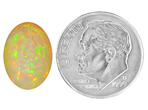 Ethiopian Opal 3.00ct Min 14x10mm Oval / Cut: india