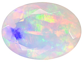 Ethiopian Opal 14x10mm Oval 3.50ct