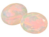 Ethiopian Opal 9x7mm Oval Matched Pair 1.75ctw