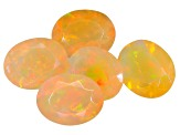 Ethiopian Opal 9x7mm Oval Set of 5 5.40ctw