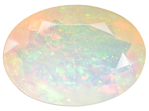 Ethiopian Opal 14x10mm Oval 2.85ct