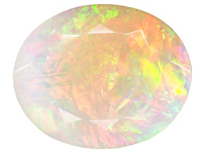 Ethiopian Opal 12x10mm Oval 2.40ct