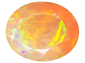 Ethiopian Opal 12x10mm Oval 2.60ct