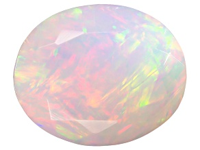 Ethiopian Opal 12x10mm Oval 2.00ct