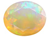 Ethiopian Opal 12x10mm Oval 2.25ct
