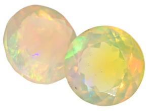 Ethiopian Opal 9mm Round 3.92ctw