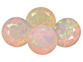 Ethiopian Opal 8mm Round Set of 4 4.60ctw