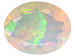 Ethiopian Opal 10x8mm Oval 1.25ct