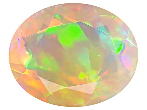 Ethiopian Opal 10x8mm Oval 1.30ct