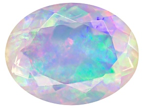 Ethiopian Opal 9x7mm Oval 1.25ct