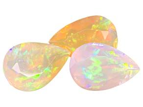 Ethiopian Opal Pear Shape 2.95ctw