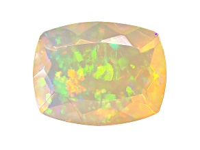 Ethiopian Opal 9x7mm Rectangular Cushion 1.00ct