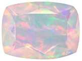 Ethiopian Opal 8x6mm Rectangular Cushion 0.75ct