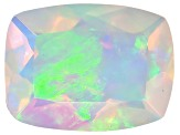 Ethiopian Opal 8x6mm Rectangular Cushion .75ct