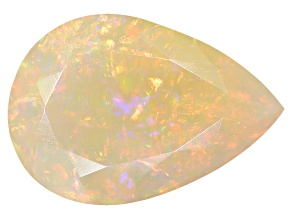 Ethiopian Opal 14x10mm Pear Shape 2.50ct
